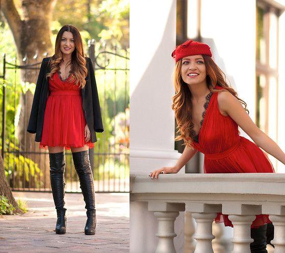 Dress, Choies Hat