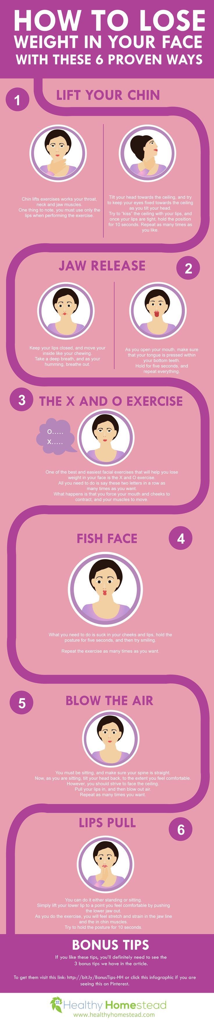 Will this works? Haha - How to Lose Weight in Your Face With These 6 Proven Ways