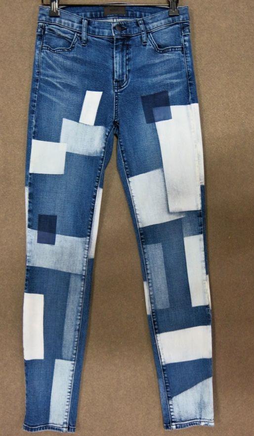 #woman #denim #jeans #patch #print #fresh
