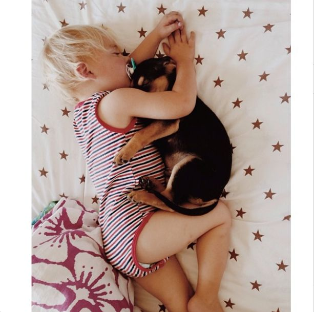 #Puppies and #babies