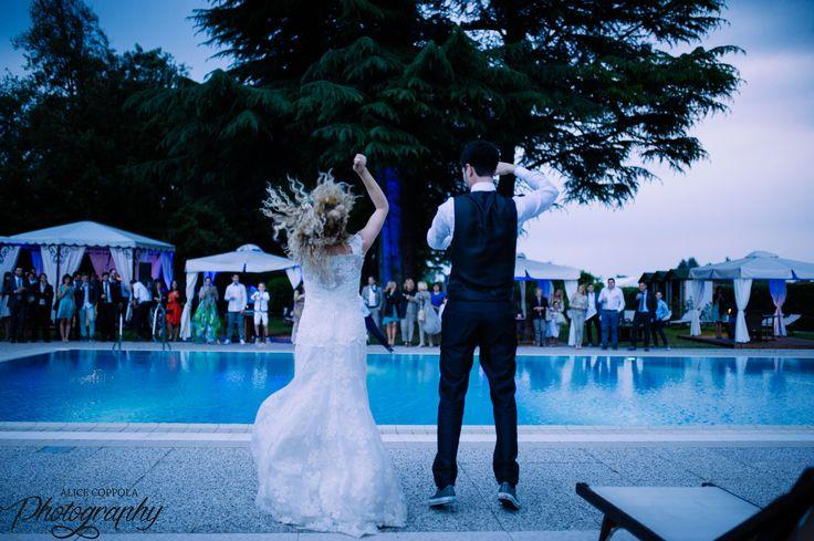 First dance, our funny #flashmob #bride #groom #weddingday | @AliceCoppola Photographer