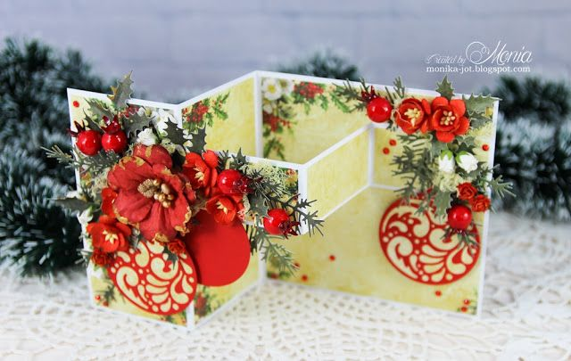 Wild Orchid Crafts: Christmas double z-fold