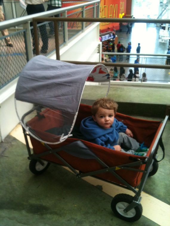 Customized Wagon Canopy For The Foldable Wagons By