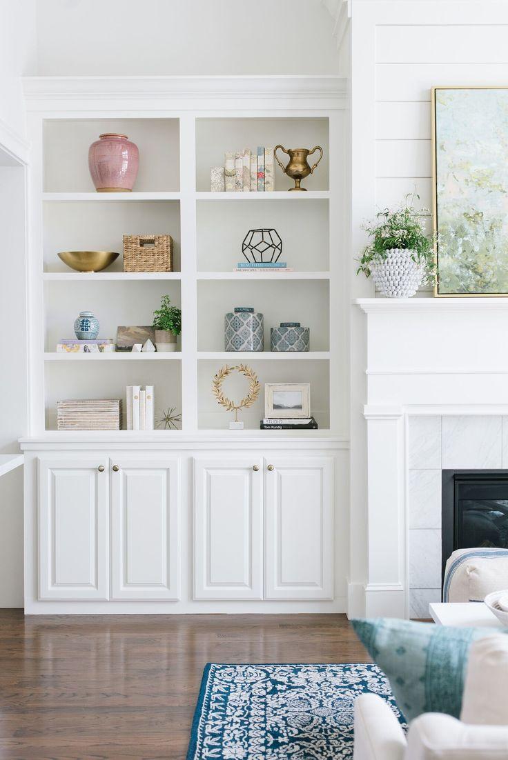 Best 20+ Bookshelves Around Fireplace Ideas On Pinterest