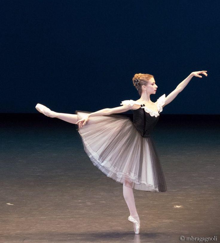 Myriam Ould-Braham in 'Mozartiana', Paris Opera Ballet. Photo by Monica Bragagnoli
