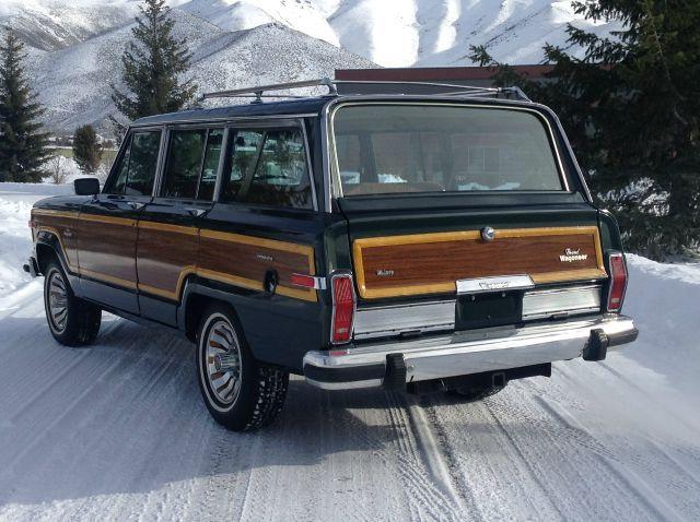 Refurbished Green 1984 Grand Wagoneer in Idaho for $18k.