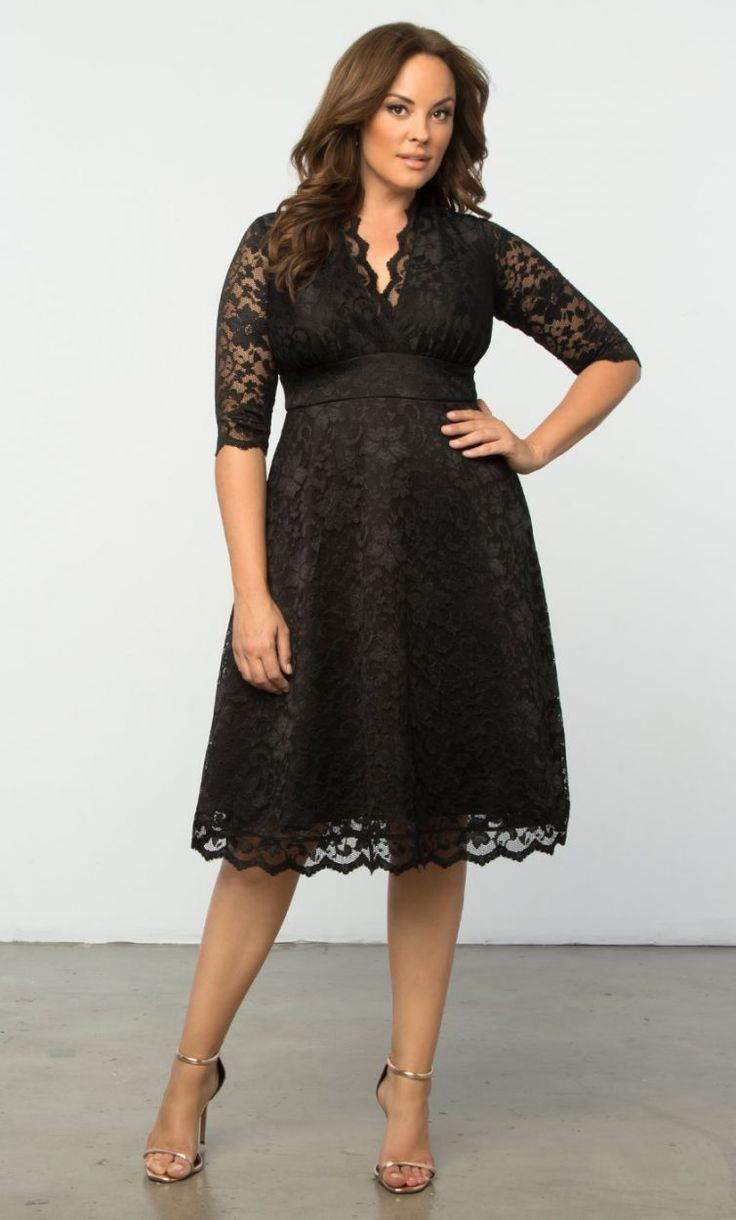 27 Plus Size Wedding Guest Dresses {with Sleeves | Plus ...