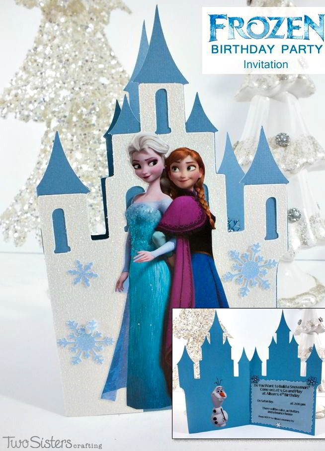 The 374 best Disney Frozen Invitations & Thank You Cards images on ...