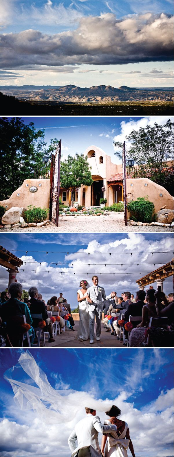Real Wedding: Renae and Alex's New Mexico Hacienda Celebration, II | Style Me Pretty