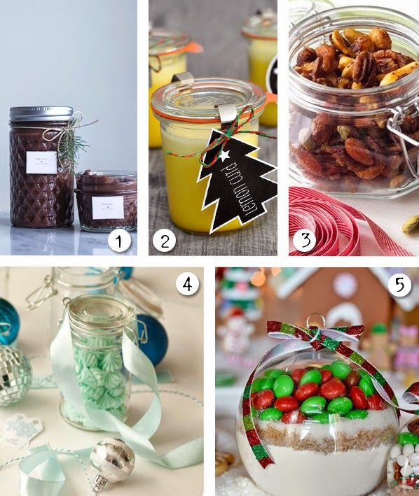 #Geschenke aus der #Küche: Mandeln, Lemon Curd, Schokocreme....