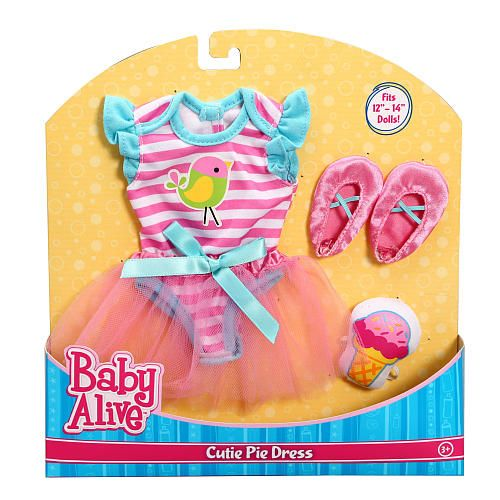 "Baby Alive Cutie Pie Dress -  Funrise - Toys""R""Us"