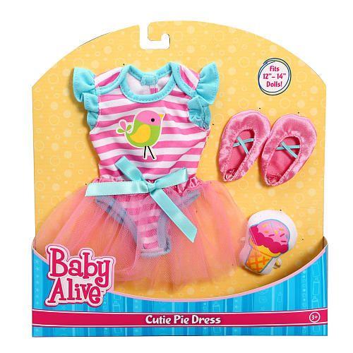 "Baby Alive Cutie Pie Dress -  Funrise - Toys""R""Us"
