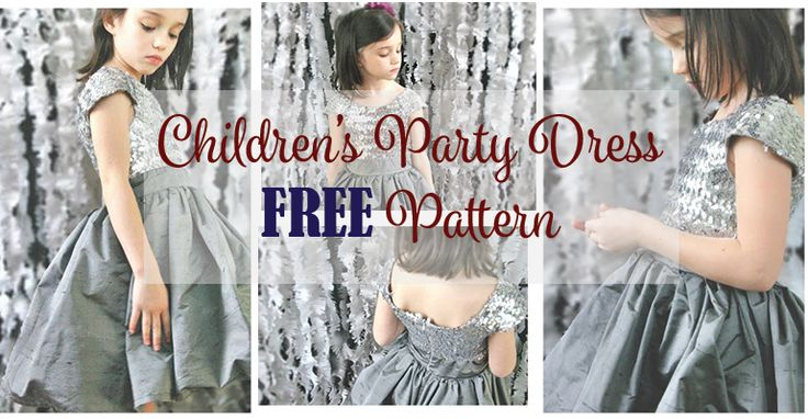 This Children's Party Dress Pattern FREE is for the Twas the Night Dress Pattern. This dress has a ballet neckline and shoulder sleeves. Deep back and fitted bodice. The skirt is knee length, fully lined and flared with an optional tulle … Read More