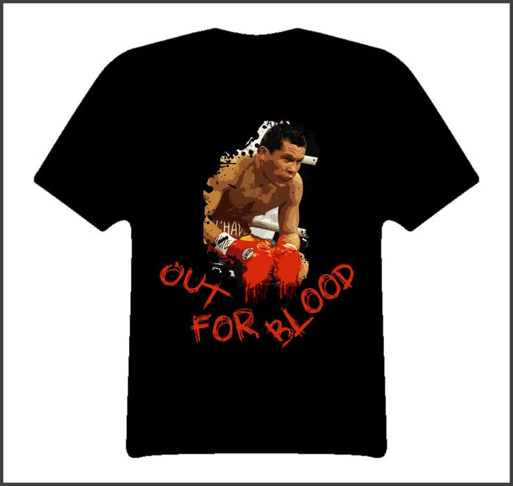 Julio Cesar Chavez Out For Blood Boxing Legend Boxing T Shirt