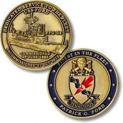 USS Ford (FFG-54) Challenge Coin