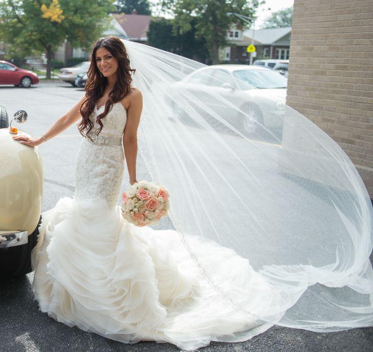 Preowned Wedding Gowns: Used Lazaro Lazaro 3201 Wedding Dress