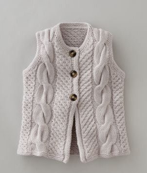 cosy vest: Knits Inspiration Great, Ems Tricot, 1 Knitwear, Fall Knits, Baby Knits, Knits Sweatervestshawl, Cozy Vests, Crochet Knits, Cable Knits