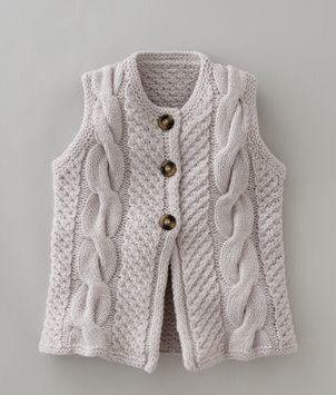 tentenknits: Fall Knit Inspiration...great vest, no pattern