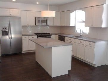 Contemporary Kitchen Cabinets Shaker 24 best white shaker kitchens images on pinterest | white shaker