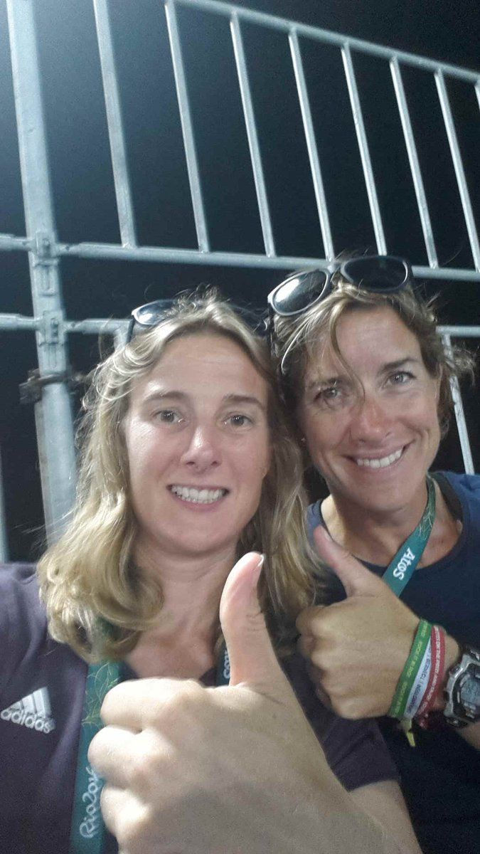 Sarah Winckless and Katherine Grainger
