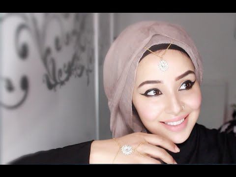 ▶ All to one side Hijab Tutorial ft. headscarf from Eastern Influence |by fatihasWORLD - YouTube