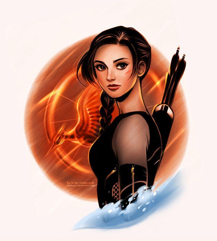 Catching Fire: Katniss Everdeen by daekazu on deviantART