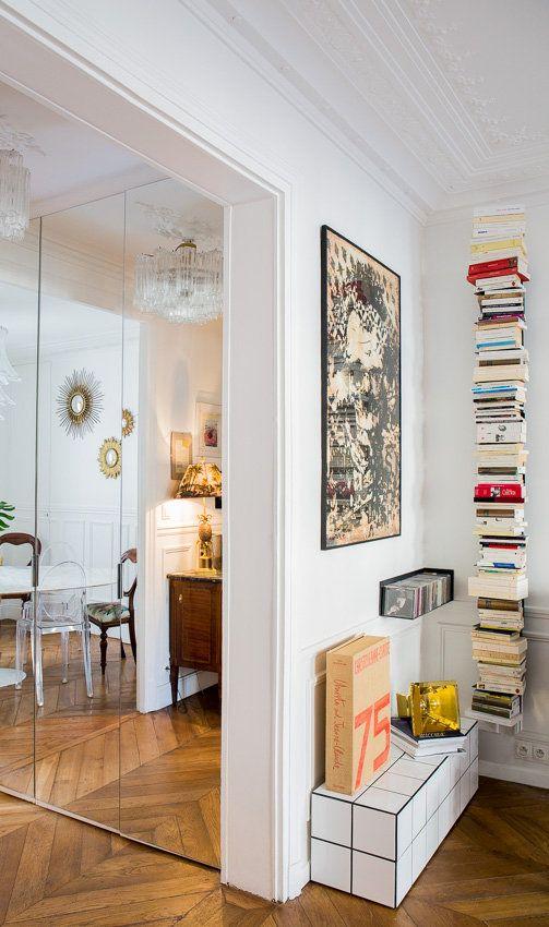 Beautiful Paris R novation et r am nagement d uun appartement haussmanien MrL uMrsC aurelie lambert sejour