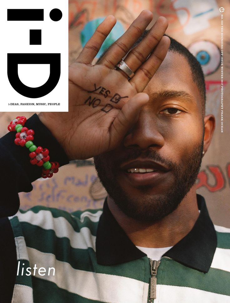 """exclusive: """"it came to me in a dream"""" – frank ocean creates a visual essay and pens personal letter - i-D"""