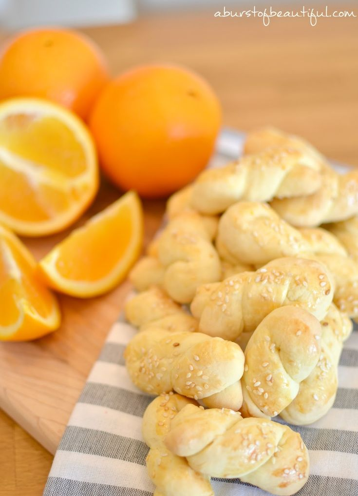 Greek Easter Biscuits - A Burst of Beautiful