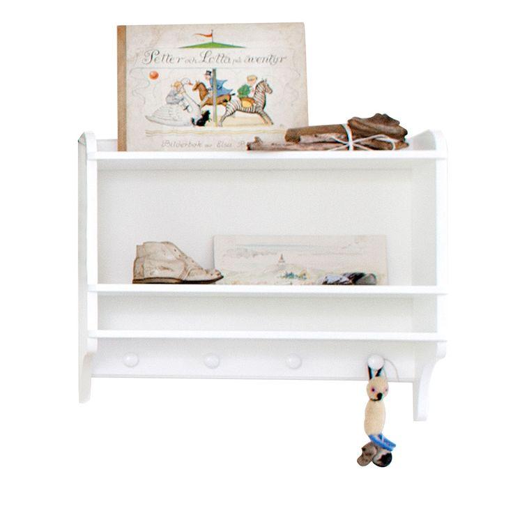 L'étagère porte-manteaux Seaside est la meilleure solution pour exposer des livres et des objets avec style. Sa forme blanche rectangulaire, simple et élégante, se glisse très bien non seulement pour la chambre des enfants, mais aussi dans toutes les autres pièces de la maison: la salle de bains, à côté de l'évier, dans le salon comme support TV, la cuisine ou le couloir, il y a toujours besoin d'un support mural supplémentaire pour vos affaires. La fonction porte-manteaux rend cet objet…