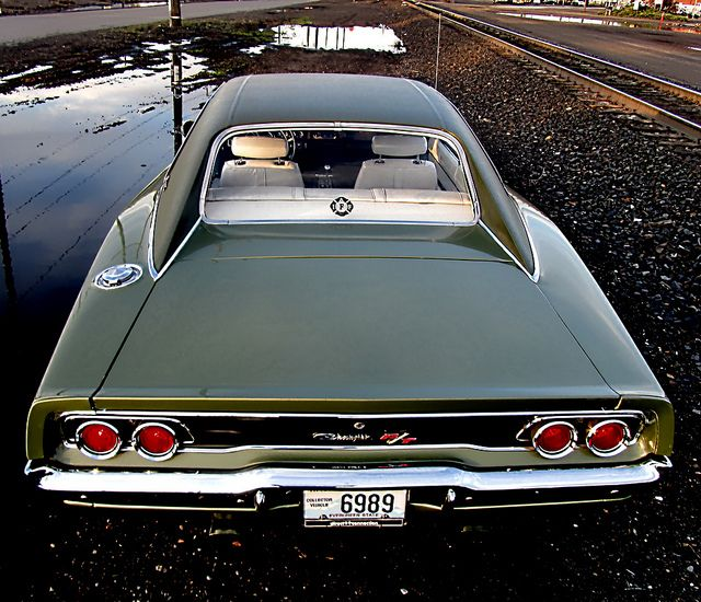 1968 Dodge Charger R/T. Charger, Find parts for this classic beauty at http://restorationpartssource.com/store/