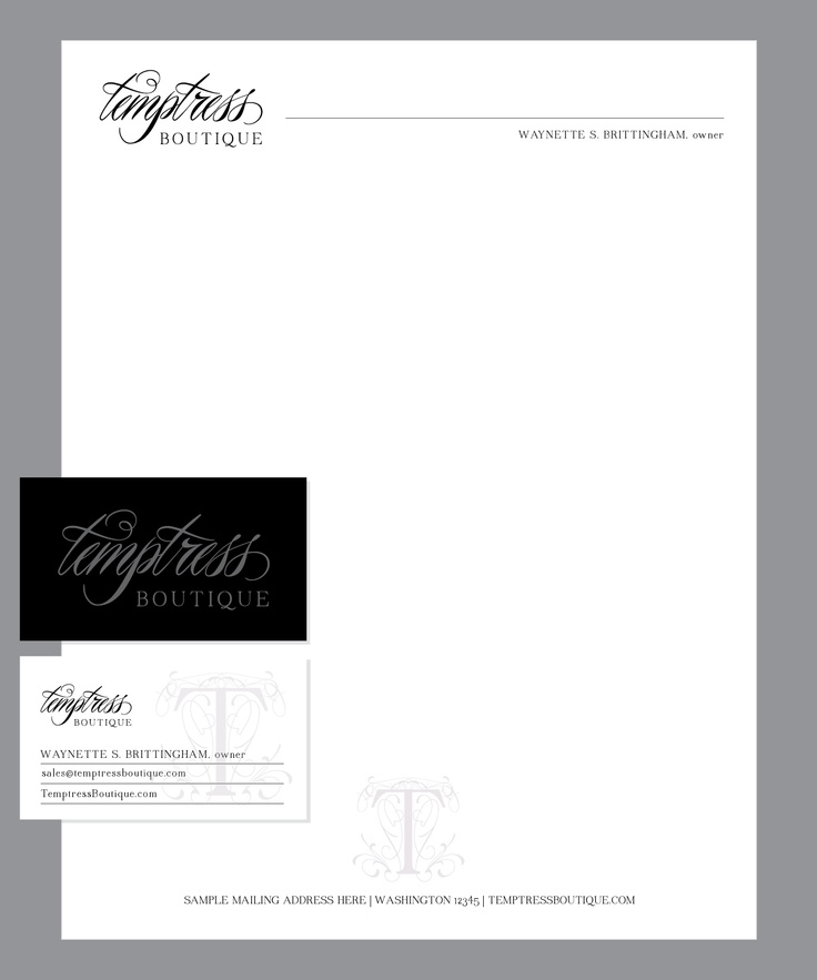11 best Business Card \/ Letterhead images on Pinterest Identity - official letterhead