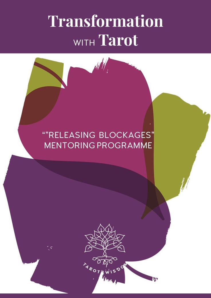 Mentoring Programme for Removing blockages and limiting beliefs + personal transformation with Tarot