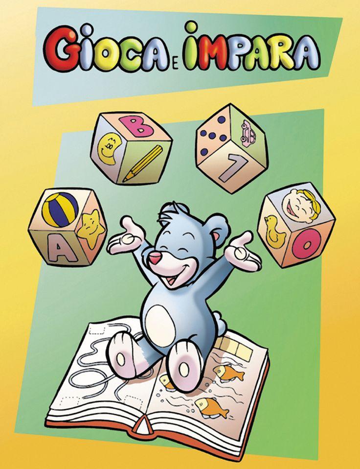 Album giochi per bambini, molto interessante e istruttivo.
