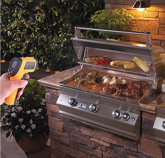 Instant Digital Barbecue Infrared Thermometer