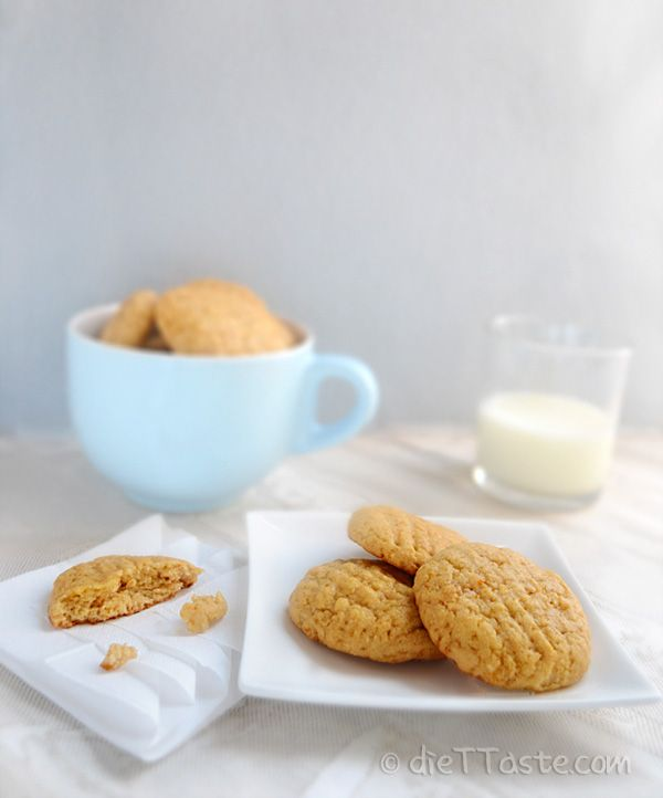 Diabetic frendly Peanut Butter Cookies, healthier Peanut Butter cookies