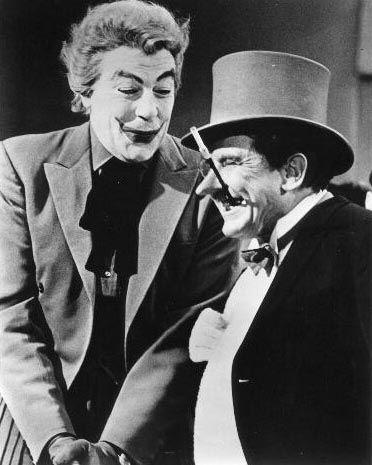 Cesar Romero Joker | Cesar Romero/Joker & Burgess Meredith/Penguin - Sitcoms Online Photo ...