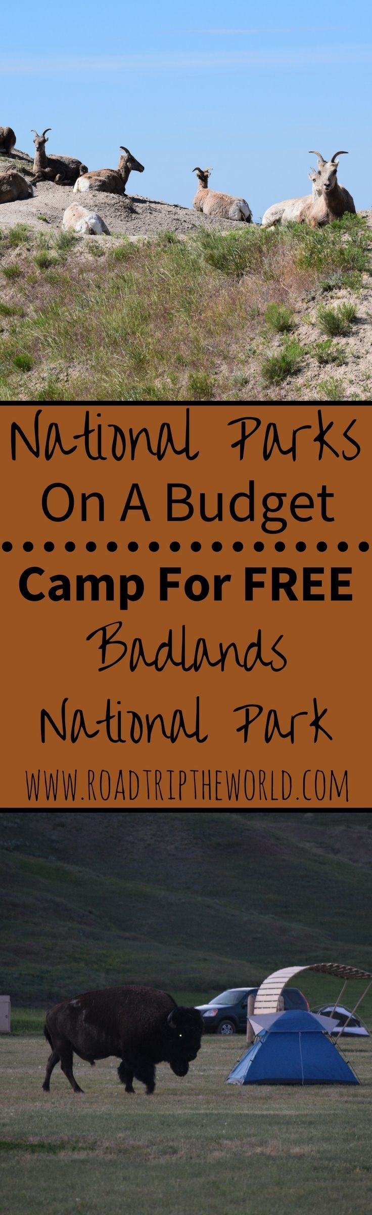 Looking to visit Badlands National Park on a Budget? Check out Sage Creek Campground to Camp for FREE!
