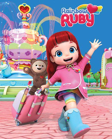 Rainbow Ruby Licensing Italia | Kartun, Hiasan kue, Hiasan