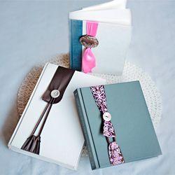 DIY Project - Nifty Ribbon & Button No Slip Bookmark #craftgawker