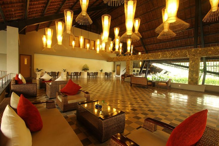 Lobby at The Oasis Lagoon Sanur, Bali.