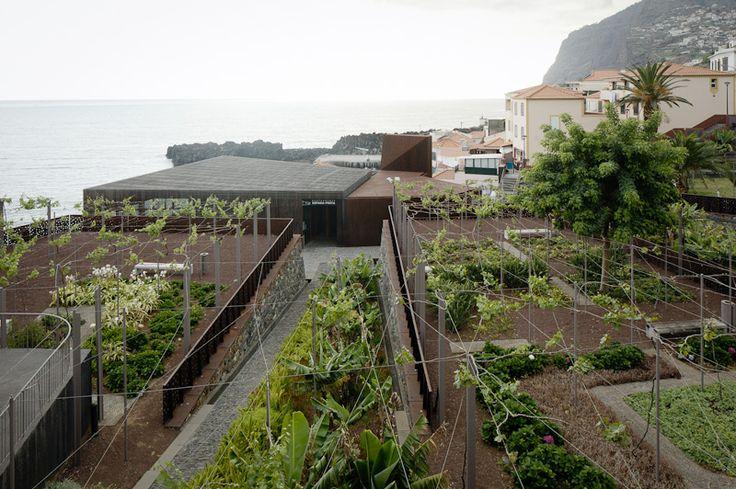 Complexo das Salinas em Câmara de Lobos, Ilha da Madeira, Portugal_  Paulo David Arquitectos. 2006