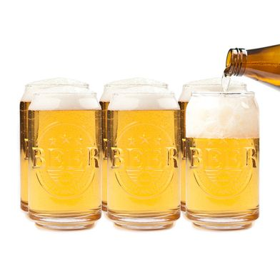 Vaso cerveza Prost vidrio (6 unidades)