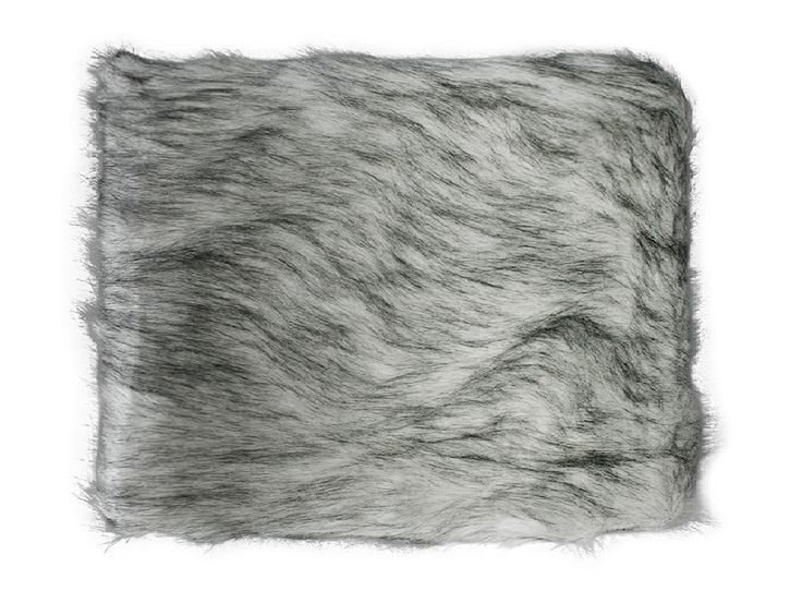 Faux Fur Ash Fox Throw - A beautiful soft multi-tonal faux fur throw with tones of greys and blacks, backed with a thick suede like backing perfect for those cosy nights in.