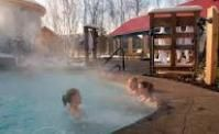 Scandinave Spa in Blue Mountain, Ontario Canada.    Look like a place you could just breathe...deeply...? Me too!  http://gogirlfriend.com/reviews/scandinave-spa-blue-mountain-18440