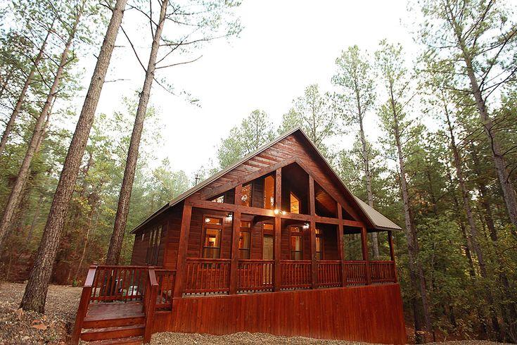 Hidden Hills Cabins // One Bedroom Cabins // Hillside