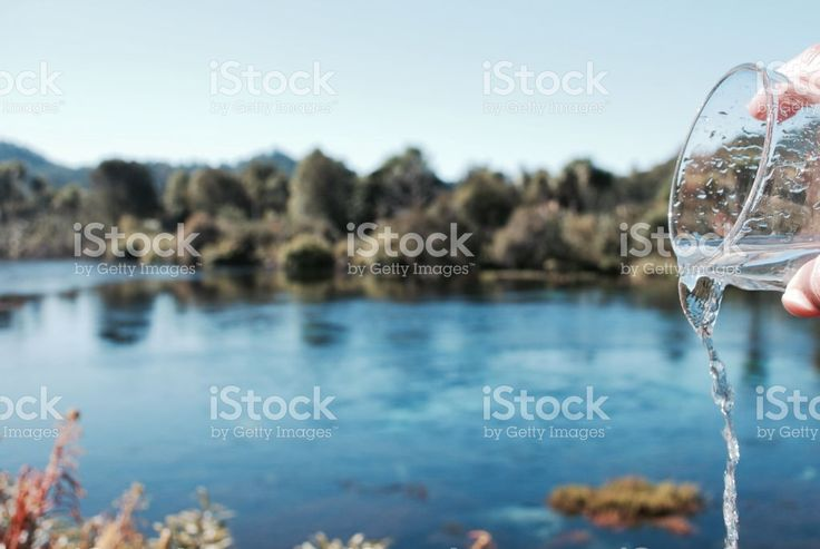 Fresh Pure Drinking Water Concept royalty-free stock photo