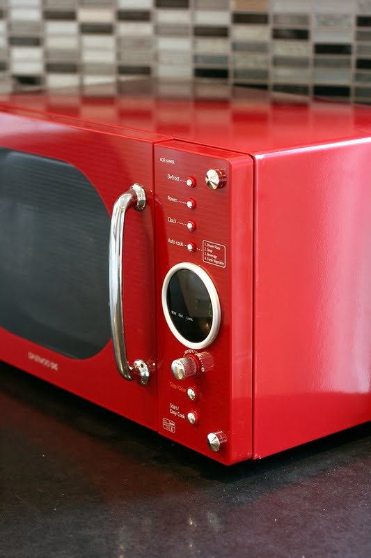 33 best images about microwave on pinterest coffee maker playroom ideas and ranges - Red over the range microwave ...