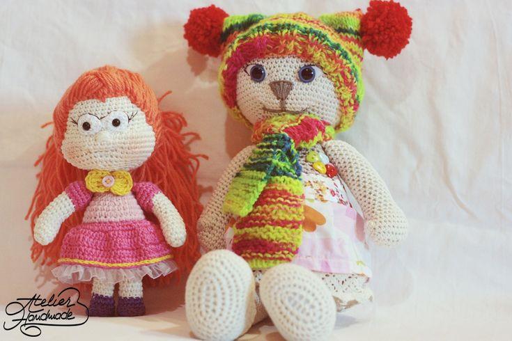 Jucării croșetate / Crochet Amigurumi: Adela - Atelier Handmade