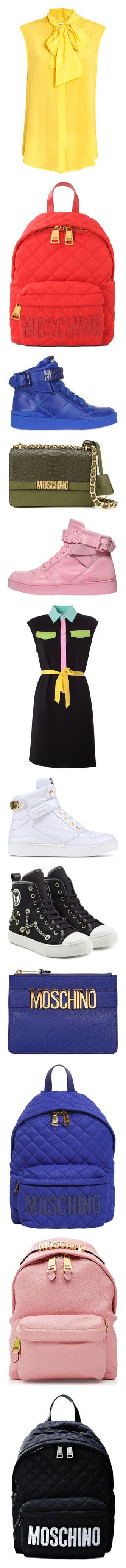 """moschino"" by ashleyluna277 ❤ liked on Polyvore featuring tops, blouses, shirts, moschino, sleeveless top, moschino shirt, yellow top, shirt tops, sleeveless blouse and shirt blouse"